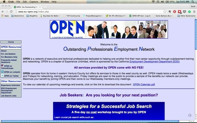 eu-open blue home page