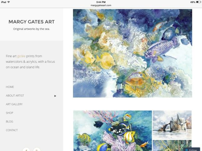 margy gates art homepage